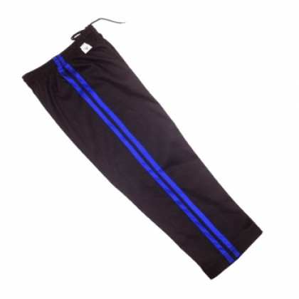 Black Pant With Blue Strip #1135