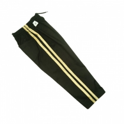 Black Pant With Gold Strip #1125