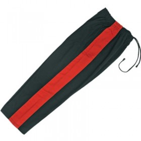 Karate Pant Black with Red Stripe 8-Oz 1120