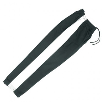 Karate Pant Black with White Stripe 8-Oz 1140