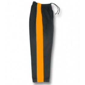 Karate Pant Black with Golden Stripe 8-Oz 1160