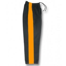 Karate Pant Black with Golden Stripe 8-Oz 1160